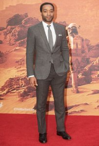 Chiwetel Ejiofor on the red carpet.