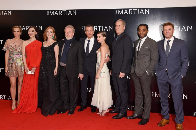 """The Martian"" - European Premiere"