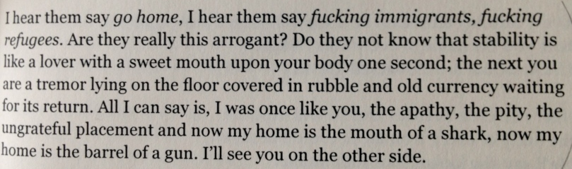 From Teaching My Mother How to Give Birth, by Warsan Shire