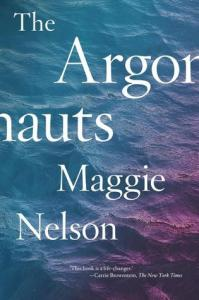 Cover of The Argonauts, by Maggie Nelson