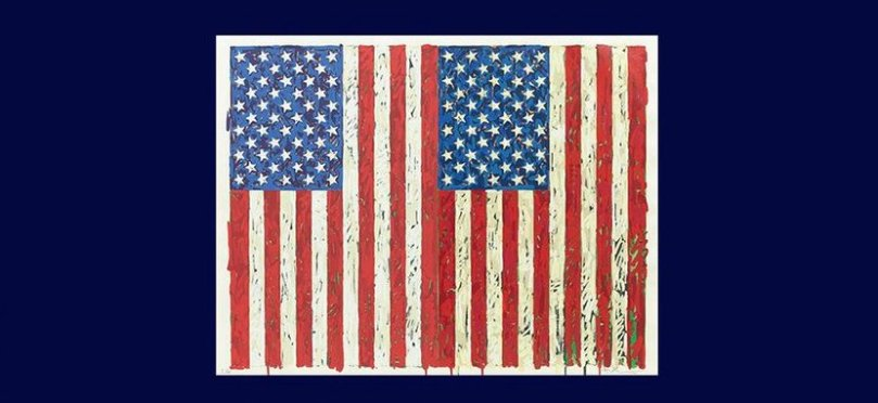 artwork for the American Dream exhibition at the British Museam