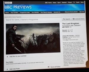 BBC preview site